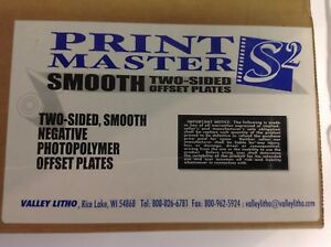 Box 100 Negative Offset Photopolymer Plates Smooth 2 Sided 11 1 4 X8 5 Pb 0055