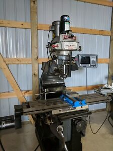 Southwestern Industries Prototrak Mx2 Acra 2 Axis Vertical Mill Power Draw Bar