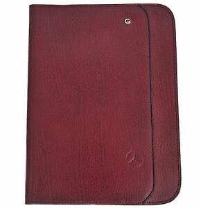 Creazione Ricardo Notepad Cover Burgundy Leather