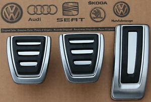 Vw Passat B8 3g Original Pedalset Pedals Pedal Cover Pads Caps For Manual Cars