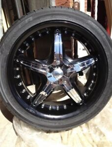 Dvinici Attivo 18inch Wheels Rims With Falken Tires