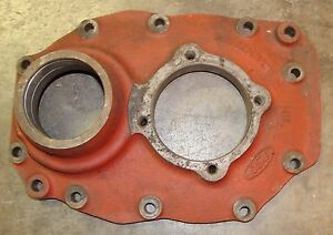 Ford Tractor Transmission Housing oem Used C5nn7049e 8 Spd 6 Spd Manual Rev