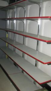 Garage Or Retail Store 8 Foot Shelving Units 8 X 8 Heavy Duty