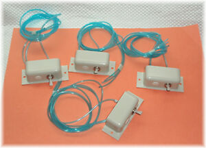 Lot Of 4 Dental Air Toggle Switches With Mounting Unit And Tubing hose look