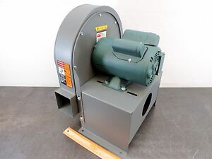 Dayton 4c108 Blower 10 9 16 Dust Collector Leeson Motor 3 4 Hp 3450 Rpm 115 230