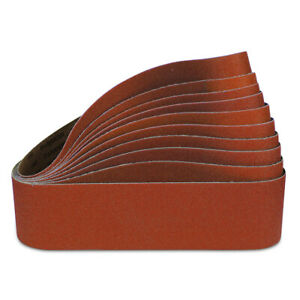 4 X 36 Inch 60 Grit Ceramic Sanding Belts For Grinding Metal 10 Pack