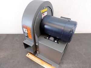Dayton 2c820 Blower 8 15 16 Dust Collector Leeson Motor 3 4 Hp 3450 Rpm 230 460