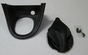 1999 2004 Mustang Shift Boot Bezel Kit Synthetic Leather 2nd Quality