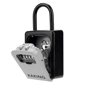 Front Door Lock Box With 4 digit Combination For Realtor Construction Seniors