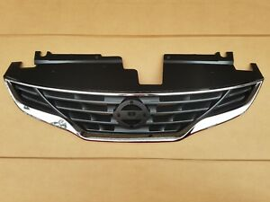 Fits 2010 2013 Nissan Altima 2 Door Coupe Front Bumper Grille New