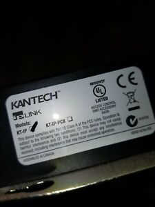 Kantech Kt ip Kt ip Link Network Interface
