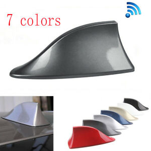 Universal Grey Car Auto Roof Shark Fin Special Radio Am Fm Signal Aerial Antenna