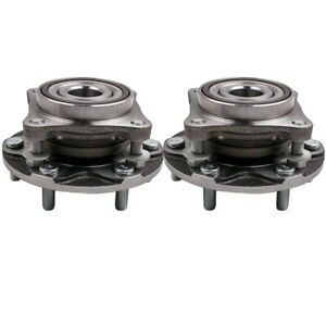 Front Wheel Hub Bearing Assembly For Toyota Tacoma 4wd 4x4 2005 2013 pair