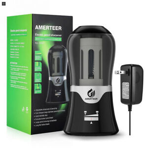 Amerteer Electric Pencil Sharpener Ac Powered With Auto stop