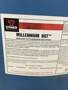 New Tower Millennium Dgt One Step Fountain Solution 55 Gal Web Press Ctp
