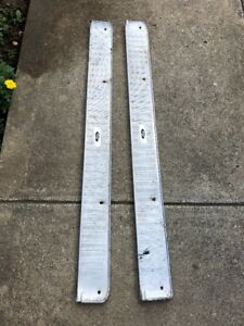 1963 Ford Fairlane 2 Door Post Step Plates