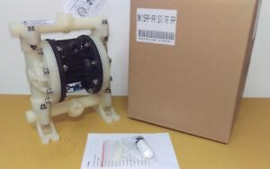 new In Box Double Diaphragm Air Pump Chemical Industrial 1 2 Or 3 4 Npt