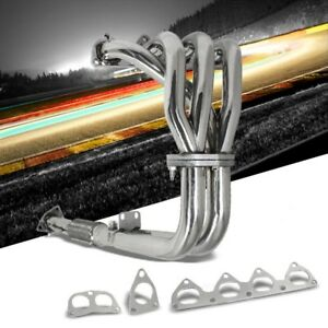 Stainless Steel Exhaust Header Manifold For Honda 93 96 Prelude Vtec 2 2l Dohc
