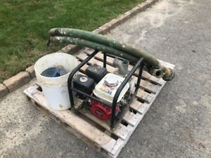 Gas powered Water Pump