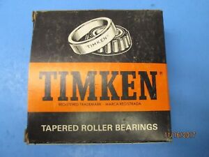 Timken Precision Class 0 Matched Roller Bearing Set 563 Cup 567 Cone New Nib 5