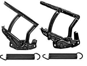 Set Of Hood Hinges And Springs For 1965 1966 1967 Chevelle Inc Convertible