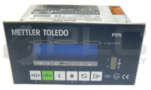 Mettler Toledo Ptpn1600000 Panel Mounted Terminal Scale Model Panther