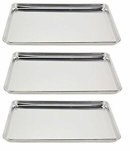 Vollrath 5303 Sheet Pan 1 2 Size Aluminum 18 inch X 13 inch X 1 inch 3 pack