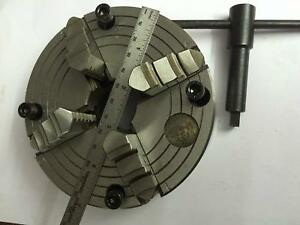 5 Inches 125 Mm 4 Jaw Independent Chuck For Lathe Machine Hv6 Rotary Table