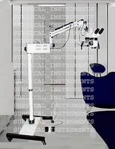 Dental Surgical Operating Microscope With Beam Splitter And Ccd Best Live