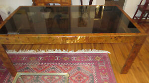 Paul Evans Style Large Dining Table Patchwork Copper