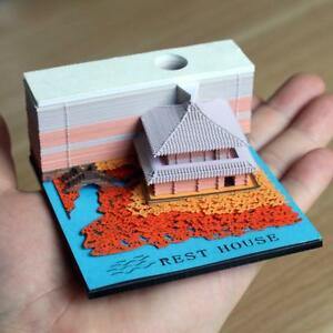 The Great Wall 3d Laser Cut Memo Pad Sticky Note Pad With Retail Box