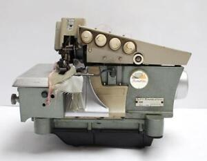Rimoldi 329 2 needle 5 thrd Overlock Serger Industrial Sewing Machine Head Only