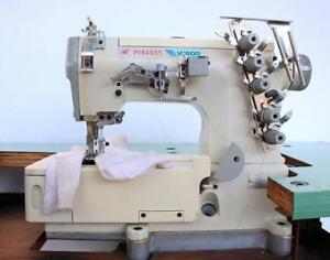 Pegasus W562 Coverstitch 3 needle 1 4 Gauge 5 thread Industrial Sewing Machine