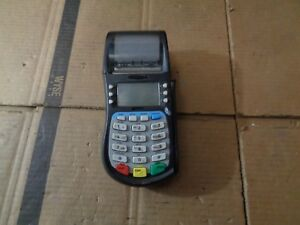 Hypercom T4210 Dial Credit Card Terminal Machine