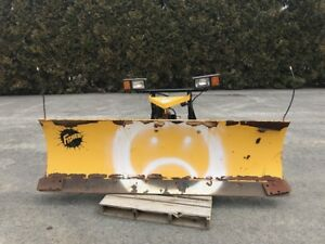 8 Fisher Minute Mount Snow Plow