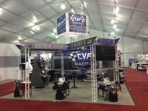 Trade Show Exhibit Display Booth Ventura 20x20 Ez6 Tool less