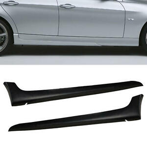 For Bmw E90 3 Series 06 08 T A Style Side Skirts Body Kit Polyurethane Pu