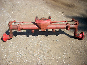 Ih Farmall International Mccormick 544 Factory Wide Front Axle