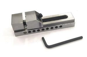 Tool Maker s Small Steel Grinding Precision Vice Vise 1 5 Inches 38mm Pin Type