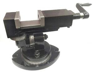 Universal Milling Machine Vice Vise 2 50 Mm 3 Way precision Quality