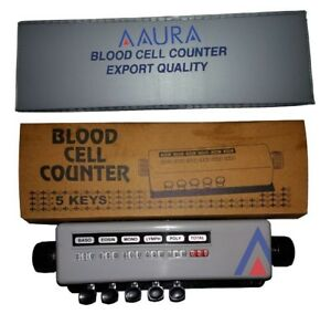 1 Pcs Differential Blood Cell Counter 5 Keys With Protective Case Free Shipping