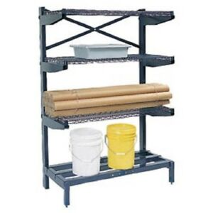 New Cantilever Rack Shelving 48 W X 24 D X 72 H 600 Lbs Capacity