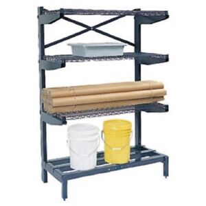 New Cantilever Rack Shelving 60 W X 24 D X 72 H 600 Lbs Capacity