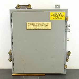 Hoffman Electrical Enclosure A 242006lp 24 x20 x6 Box Control Type 12 13