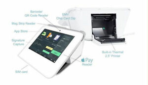 Clover Mini Pos Apple Pay Emv Printer Credit Card Machine