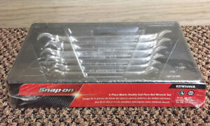 New Snap On 6 Piece Double End Metric Flare Nut Wrench Set Rxfms606b Ships Free