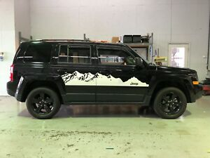 2007 2017 Jeep Patriot Mountain Decals Stickers Graphics Stripes