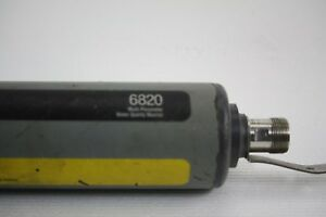 Used As is Ysi 6820 Multi Parameter Water Quality Monitor
