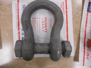 Usa Rigging lifting Shackle Ancor Clevis Wll20t 1 1 2 38mm 20 Ton