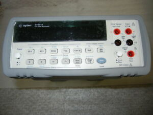 Agilent Hp 34401a 6 Digit Dmm Digital Multimeter New From The Factory